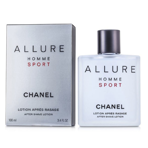 CHANEL ALLURE HOMME SPORT AFTER SHAVE LOTION 100ML – Profumerie ... a897cbad6e8